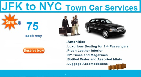 JFK airport limo and Town car service 